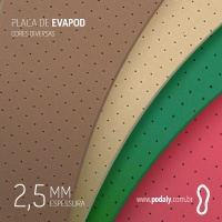 PAR • PLACAS PEQUENAS • EVAPOD FURADO • 300 X 110MM