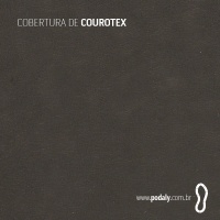 PLACA • COUROTEX PRETO • 1300 x 300MM