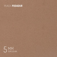 PLACA • PODADUR 5MM • 800 x 380MM