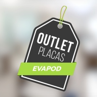 PLACA EVAPOD GRAFITE LISO 3MM OUTLET