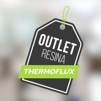 RESINA THERMOFLUX 1MM CINZA 800 X 480MM OUTLET