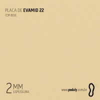 PLACA • EVAMID22 LISO 2MM • 520 X 380MM