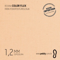 PLACA • RESINA COLORFLUX BEGE 1,2MM • 900 X 450MM