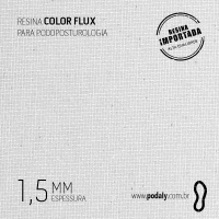 PLACA • RESINA COLORFLUX GELO 1,5MM • 900 X 450MM