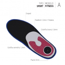 SPORT FITNESS EVAPOD COLORFLUX