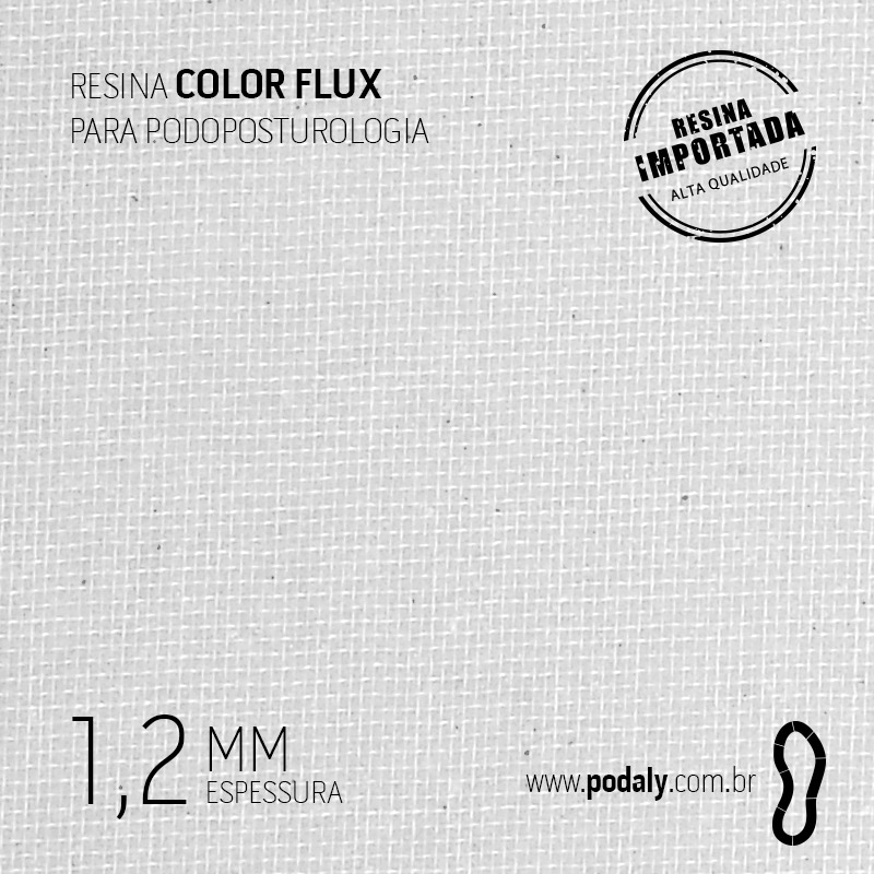 PLACA RESINA COLORFLUX GELO 1,2 MM  1000 X 450MM
