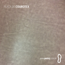 PLACA COUROTEX CINZA 1450MM x 500MM